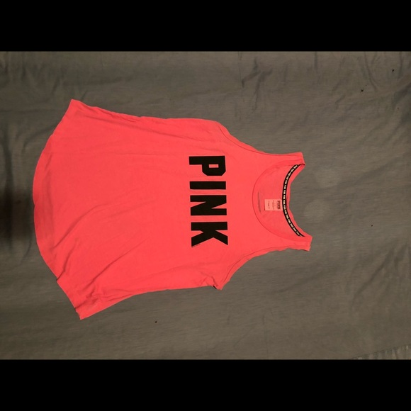Pink by Victoria's secrets top  Nice look size L